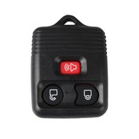 Wholesale Car Remote Control Case Replacement - 3 Buttons Entry Replacement Keyless Remote Car Fob Key Shell Case Key Clicker Transmitter Control For Ford