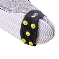 Fashion Hot Delicate Snow Ice Climbing Anti Slip Spikes Grips Crampon Cleats 5-Stud Shoes Cover