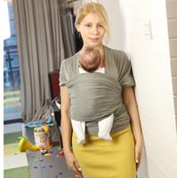 venta de toallas de bebé al por mayor-venta caliente Bandolera hombro toalla Toalla de bebé multifunción Horizontal Sostener Portátil Mochila de bebé lado frontal llevar