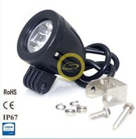 Wholesale Car Working Light - 2X 10W Cree LED Work Light Spot Lamp Driving Fog 12V Car 4x4 Motorcycle Boat ATV