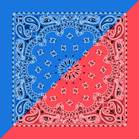 Wholesale Very high quality hip hop printed cotton bandana unisex cotton head scarf CM free and fast shipping