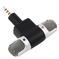 Wholesale Mobile Digital Recorder - ECM-DS70P Portable Mini Mic Digital Stereo Microphone Dual Soundtrack for Recorder PC Mobile Phone New Arrival