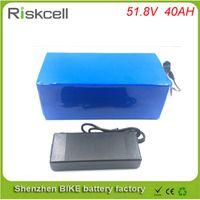 дешевые королевские синие пkers for windows оптовых-Выполненная на заказ электрическая батарея ebike лития батареи 51.8 v 40ah 1500w велосипеда для электрического велосипеда с блоком батарей li-Иона 52v 40ah