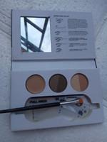 Wholesale Card Powder - Beauty Express Makeup Sets Eyebrow set Brow Gel+Eyebrow +Eyebrow cream +Eyebrow card+Eyebrow brush +Highlighting brow free shipping