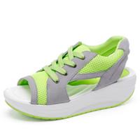 Wholesale Shop Cheap Sandals - 2016 Fashion Shoes For Adults Ladies Trendy Health Wedges Sandals Summer Beach Slipper For Women Shop Cheap Casual Shoes