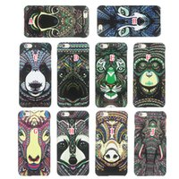 Wholesale Skin Galaxy Ace Plus - Luminous Cartoon Hard PC Case For Iphone 6 6S Plus 5 SE 5S Samsung Galaxy S7 S6 EDGE PLUS NOTE5 J1 ACE J3 Feel Tiger Glow In Dark Skin Cover
