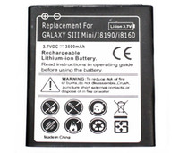 Wholesale Extended Battery For Galaxy S3 - High Quality Galaxy S3 Mini Extended Mobile Phone Battery With Back Cover Case For Samsung Galaxy S3 Mini Battery AKKU ACCU 3500mAh