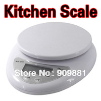 Wholesale Precision Digital Weight Scale Grams - 5Kg 1g Portable LCD Digital Kitchen Scale Postal Food Diet Grams Electronic Scales Cooking Tools Weight Balance High Precision