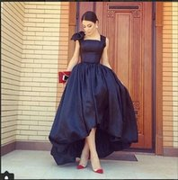 Wholesale White Formal Tube Top - 2017 Retro Evening dresses Online Sexy Wide Spaghetti with Bowtie Tube Top High Quality Taffeta Evening Formal Prom Dresses Vestidos