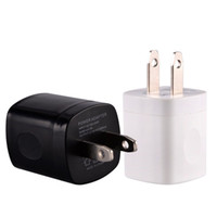 Wholesale ac home plug resale online - Wall charger NOKOKO V A US Ac home Wall charger power adapter travel wall chargers plug for iphone Samsung s6 s7 s8 android phone