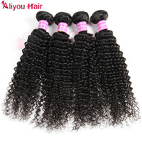 New Arrival Brazilian Kinky Curly Hair Weave Bundles Cheap Remy Extensões de cabelo humano Wet Wavy Weave Unprocessed Hair Wefts B2C Atacado