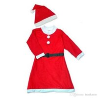 Wholesale Girls Santa Dress Costume - Women's Santa Baby Costume Quesera Miss Santa Suit Adult Sweetie Christmas Halloween Party Costume Dress Free Size Fit for 150-175CM