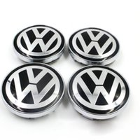 Wholesale Vw Golf Rims - For VW WHEEL CENTER CAPS RIM HUB CAP 60mm 55 Volkswagen PASSAT Jetta GOLF Bettle