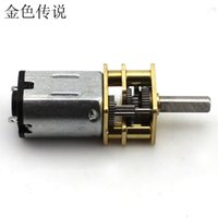 F19213 JMT GA12-N20 r Desaceleración Motor 10MM Eje / 6V 100turn DIY Smart Car Micro DC Gear Motor RC Accesorios Repuestos