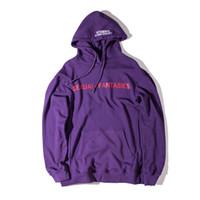 Wholesale Women S Cloths - VETEMENTS Oversize Hoodies women men Sexual Fantasies AUTOMNE-HIVER Kanye Skateboard Catwalk Su pre mo Sweatshirts Unisex Cloth