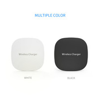 Wholesale wholesale mobile phones for sale - Hot sale Qi Wireless Charger For iPhone X 10W fast Charging Pad For Samsung Note 8 Galaxy S8 Plus S7 Edge Mobile Phone Chargers