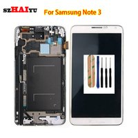 Wholesale Replacement Works - Test Working Well LCD Display For Samsung Galaxy Note3 N9000q N9005 N900A N900T N900 N900V N900P LCD Display Replacement