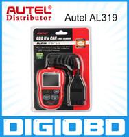 Wholesale Cheapest Benz - 100% Genuine Autel AutoLink AL319 Professional Auto diagnostic Code reader Cheapest AUTO scan tool Free Update Online