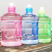 Wholesale Sport Children Water Bottle - Hot water bottle Sports Kettle Plastic Water Cup Student Water bottle With Handle Buckets Hand Cup 500ml