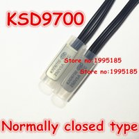 Wholesale Thermal Switch Normally Closed - Wholesale-10pcs KSD9700 5A250V 30 Degree Celsius (N.C.)Normally closed type Temperature Switch Thermostat Thermal Protector