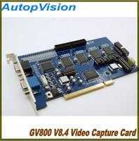 Wholesale Cctv Card Software - 16CH GV800 v8.4 software CCTV DVR Cards,2pcs free shipping