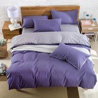 Wholesale Full Flat Sheets - BZ600 Reactive Printing Bedding Set Super Soft Cotton Duvet Cover Flat Sheet Pillowcase Comforter Bed Set Twin Full Queen King