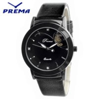PREMA Brand New Fashion Ladies Luxury Quartz Montres Femmes Famous Brand strass Montres Waterproof Relojes Mujer P0003