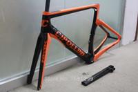 матовая гарнитура из углеродного волокна оптовых-Новый 6 цветов NK1K 700C дорожный велосипед матовый 3K полный углеродного волокна велосипед рама углерода вилка + подседельный + зажим + гарнитуры частей свободный корабль