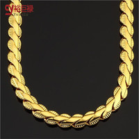 Wholesale Jewelry Box Lace - Hip Hop lace short chain Men and women fashion necklace Gold Plated Chain Men Jewelry Bijouterie For Men Women Packing With Gift Box