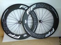 Wholesale Carbon Wheels Bike 88 - carbon road wheels 88 mm wheel width 23 mm carbon clincher 700C road bike wheels Bicycle wheel carbon wheels