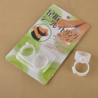 Wholesale magnetic rings weight loss - Health Care Feet Care Easy Massage Slimming Silicone Foot Massage Magnetic Toe Ring Fat Burning For Weight Loss 0607005