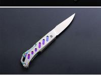 Wholesale Chinese Folding Knives - Sanrenmu SRM mini paring knife camping Knife folding Pocket fruit Knife Outdoor hunting tool 4058
