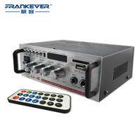 Wholesale Motor Amplifier - Freeshipping Hi Fi Sliver 12V DC5A  220V CD MP3 Radio Car Auto Motor Boat Home Audio Stereo Bass Speaker AMPLIFIER