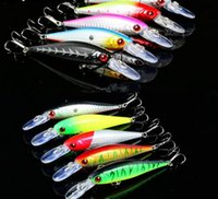 Wholesale Yo Zuri Lures - 10pcs Wobbler Fishing Lure Fit Kosadaka Yo Zuri Tackle Crankbait Peche Minnow Jerkbait Artificial Pike Fish Bait F172