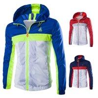Wholesale Rain Skins - Fall-Outdoor Men's Fast Drying Anti-UV Waterproof Wind Protector Rain Ultralight Ultra-thin Skin Jacket W720