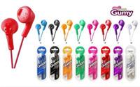 гумминый микрофон для наушников оптовых-Gumy HA F160 Наушники HA-F160 Сотовый телефон Наушники Наушники-вкладыши Красочные наушники без микрофона