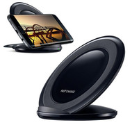 Wholesale Docking Station Wireless - Wireless charger dock for Samsung fast charge Desktop Charger Dock Station Cradle For Samsung S8 Plus with Retail Package
