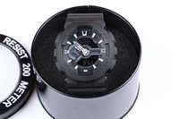 führte uhr tarnung großhandel-Junge relogio Armbanduhr des Jungen der freien Verschiffenmänner, Militärtarnunguhr, Digitaluhr Armbanduhr
