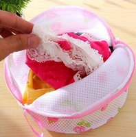 Wholesale Travel Laundry Bags - Hot Women Bra Laundry Bags Lingerie Washing Hosiery Saver Protect Aid Mesh Bag travel