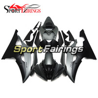 Wholesale Yamaha R6 Motorcycle - Fairings For Yamaha YZF R6 08 - 15 YZF-R6 2008 2009 2010 2012 2013 2014 2015 ABS Motorcycle Fairing Kit Bodywork Black Grey Cowlings