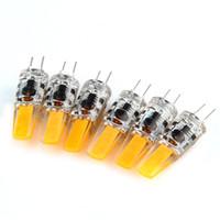 Wholesale 12v bi pin resale online - 2 Watt G4 LED V AC DC Bi Pin Light Bulb K Warm White Waterproof T3 G4 Halogen W Led Replacement