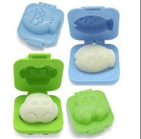 Wholesale Egg Rice Mould - Lovely small car and small fish mould rice mould sushi mould egg mould Korean Japanese cuisine