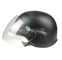 Wholesale Pasgt M88 - Wholesale-AIRSOFT M88 PASGT KELVER SWAT HELMET WITH CLERA VISOR BLACK-34339