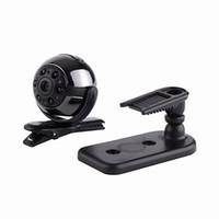 Wholesale camera mini video sport online - Supper Mini Rotating SQ9 Mini DV HD1080P Sport Camera MP Car DVR Motion Detection Multifunction Infrared lamp Voice Video Recorder