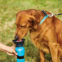 Wholesale Automatic Feeder For Pets - Puppy Travel Sport Bottle Outdoor BPA Free Feeding Bottle for Dog Pet