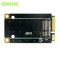 Commercio all'ingrosso - mini pcie card alla scheda wifi wireless mini pci-e al modulo adattatore di rete 3G BCM94360CD / BCM94331CD per Macbook Pro / Air