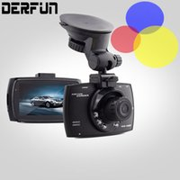 Wholesale Camera Mini Wide Car - Mini Car dvr Camera recorder 1080P HD 140 Degree Wide-Angle dash cam Night Vision 12Wege Pixels DashCam