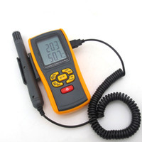 Wholesale K Type Thermocouple Thermometer - Handheld digital thermometer GM1361 K-type thermocouple temperature measure 2pcs lot free shipping