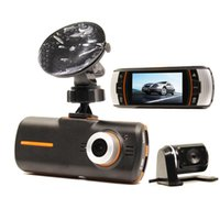 "Wholesale Dvr Separate - Car dvr A1 HD 1080P 2.7"" Dual Lens Dashboard Dash Car Separate Rear Camera hig resoluion"