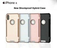 Wholesale Iphone Aluminium Metal Bumper - New Aluminium Alloy Soft TPU Hybird Case Drop Protective Metal Silicone Colorful Shockproof Bumper Cover For iPhone X 8 7 Plus 6 6S